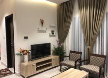 بسعر مغري للبيع شقة فخمة مفروشة أمام مستشفى الملك حمد
