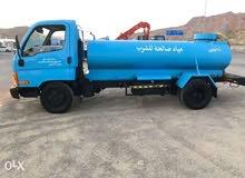 تنكر نقل مياه شرب في لوى وشناص