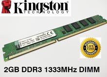 DDR3  2GB RAM for pc
