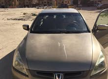 Gold Honda Accord 2004 for sale