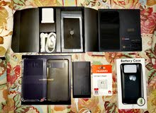 Huawei mate10 balck edition with accessories and gadgets