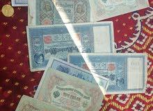 عملات ورقيه قديمه عمرها اكثر من100 سنه