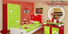 غرف نوم اطفال على شكل فريقك المفضل