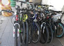 جميع الدراجات امريكيه جديد وستعمل وجميع المقاسات 20 24 26 700 29