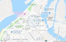 ابوظبي النادي السياحي شارع حمدان تقاطع السلام