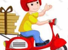 مطلوب سائقين خدمة توصيل لدى شركة خدمة توصيل مطاعم مع باص او سياره