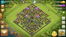 لعبة كلاش اوف كلان clash of clans 45kd