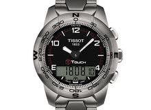 ساعة تيسو للبيع  مع كفالة تايم سنتر