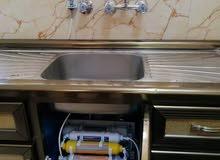 بيع وصيانه جهاز تصفيه الماء المنزلي الفلتر ذات 6 مراحل تصفيه وتحليه وتعقيم