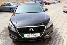 Black Hyundai Sonata 2017 for rent