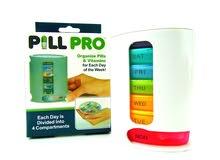 منظم أدوية إسبوعي Pill Pro