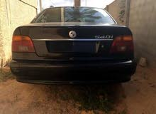 Available for sale! 0 km mileage BMW 540 2001