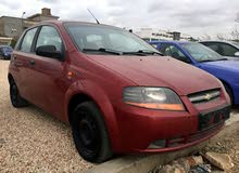 Chevrolet Aveo 2004 For sale - Red color