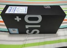 سامسونج S10 plus جديد لم يفتح نهائي رام 8 جيجا ذاكره نصف تيرا