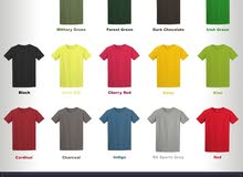 396791c58 مستعجل تيشيرت جلدان صنعت خصيصاً للطباعة - Gildan T Shirts for Uniform,  Fashion, School