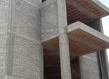 مبنى تجاري تحت الانشاء مكون من خمسه  ادوار