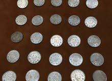 نقود سعودية فضية من عام 1354هجري