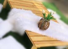 طاولة ارضية خشبية Ground Table