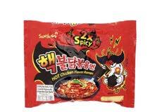 نودلز - اندومي حار Spicy Noodles