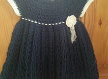 فستان كروشي خريفي