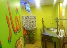 مطعم مجهز حمص وفلول وشار وما وسناك ومشاوي للبيع بحالة ممتازة