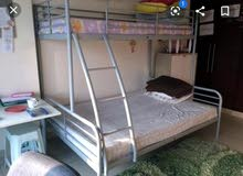 IKEA double +single bed with Mattress