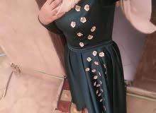 فستان ملبوس مره واحده ل وزن 55 وطول 160