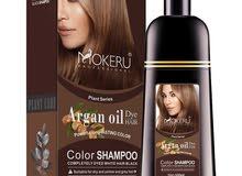 شامبو لتحويل الشعر اللون البني والأسود شامبو زنجبيل