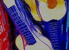 جيتار اطفال نص متر للعزف والموهبه