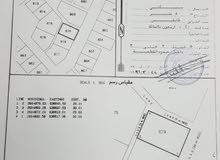 للبيع ارض شبة كوونر في الانصب الثالثة