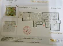 شقة بحرية بكومباوند تاج سيتي