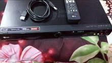 جهاز DVD  ماركة LG عرض وتسجيل هارد داخلي 160 كيكا و فلاش رام ويعرض فول HD