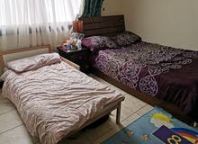 One single bed 120x200 and kids bed (ikea)