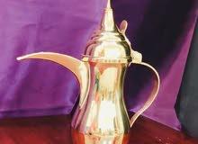 Brass Arabic Coffee pot Dallah