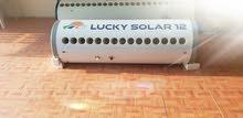 السخان شمسي Lucky solar - السمان للسخانات الشمسية - سخان شمسي