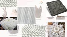 3D Printed Molds for concrete panels - 3D Printing Dubai