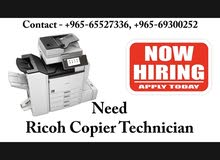 Ricoh Machine Technician