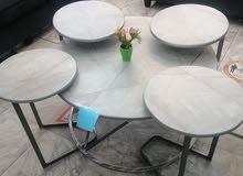 طاولات 4*1 صناعة محلي