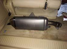 Suzuki gsxr 750 genuine muffler.