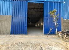مخازن ومصانع للايجار بمسحات تبد من 200متر 6000متر حسب الطلب