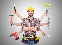 فنيين صيانة و تركيب كل شي ومتعدد المهارات لخدمات متنوعة ببيتك - خبرة 10 سنوات