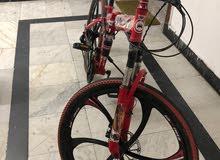 26 inch Foldable Mountain bike 21 gears