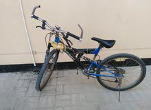 دراجه للبيع نظيفه استخدام بسيط للطرق الوعرة