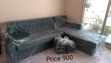 أنا أبيع ل أريكة مرتبة ونظيفة  nice new corner sofa