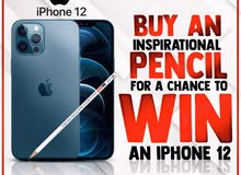 iPhone 12 Pro Max ; Buy a pencil & get a chance to win iPhone