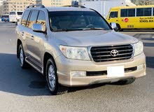 Toyota Land Cruiser 2009 model Gcc v6