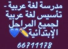 مدرسة لغة عربية لجميع المراحل الإبتدائية