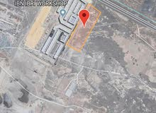 للبيع ارض صناعية بحلبان مساحتها 120000
