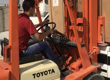 A Forklifts that's condition Used is up for sale