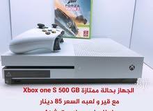 Xbox one s للبيع او للبدل مع بلايستيشن 4